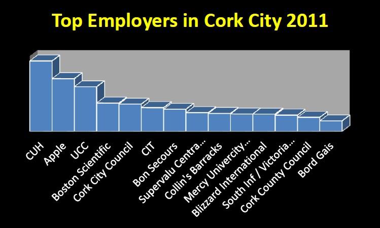 Top 14 entreprises employeurs à Cork