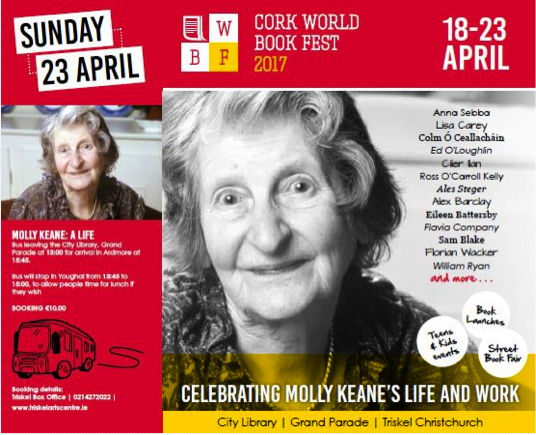 Photo : Cork World Book Fest Programme