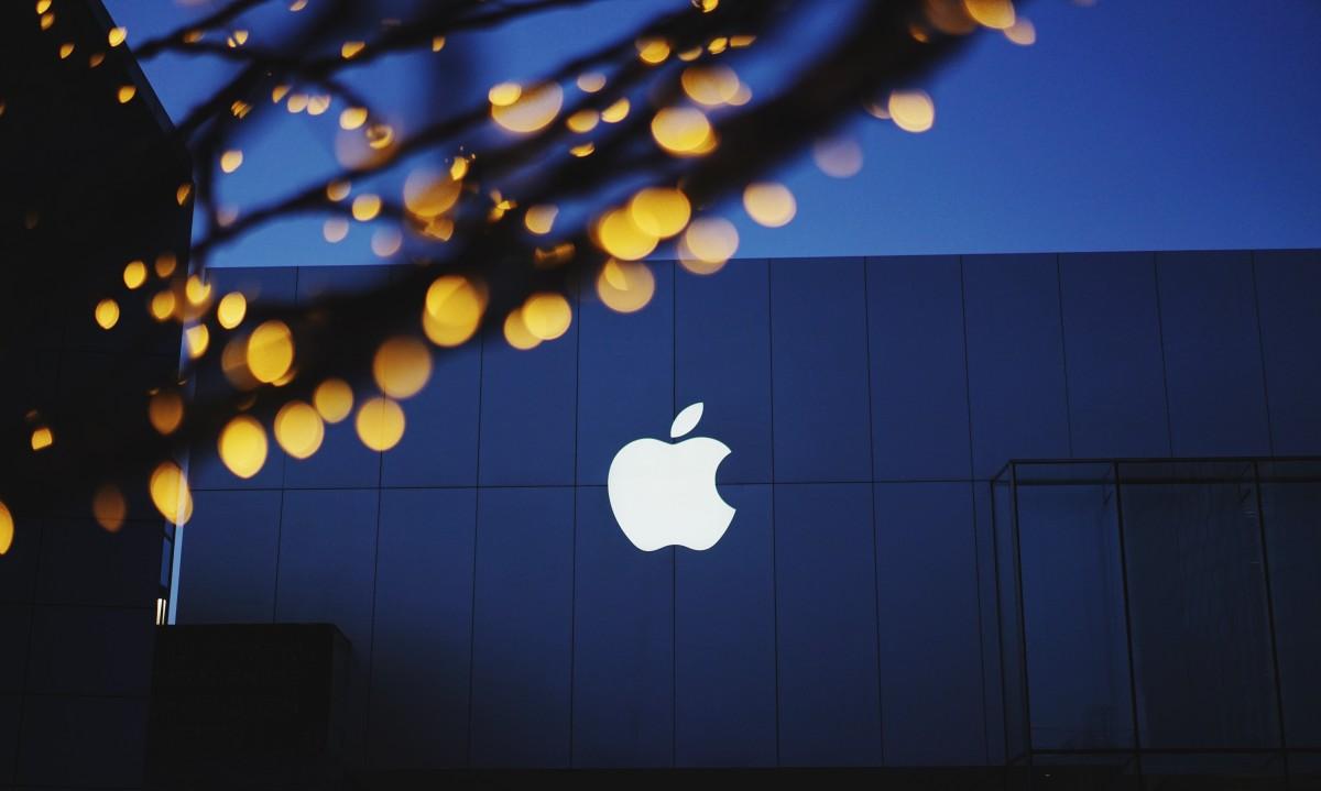Logo de la plus grande entreprise en Irlande : Apple